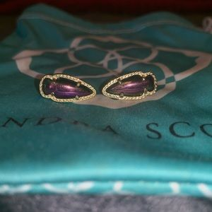 Kendra Scott Iridescent Stud Earrings